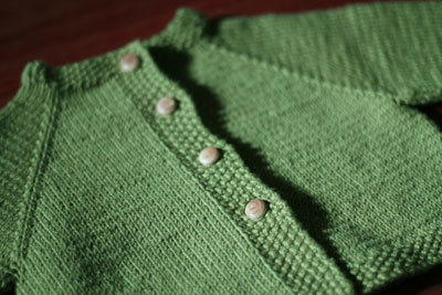 Baby sweaters are fun to knit – so quick, so small, so simple
